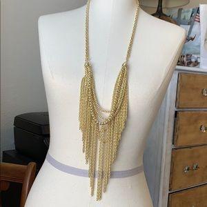 Kendra Scott Gold Fringe Necklace